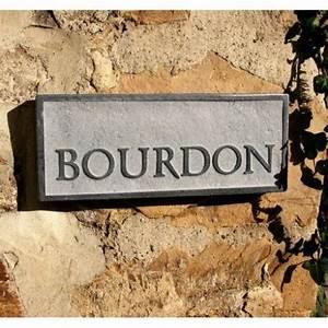 Plaque De Maison Personnalisée : plaque de maison en pierre naturelle personnalis e ~ Dallasstarsshop.com Idées de Décoration