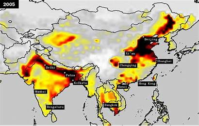 Pollution India Asia Pacific Region Air China
