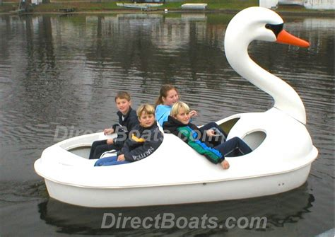 4 Person Pedal Boat by Four Person Swan Pedal Boat In