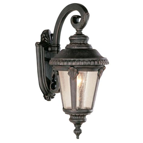 solar powered led wall mounted light sconce lantern l