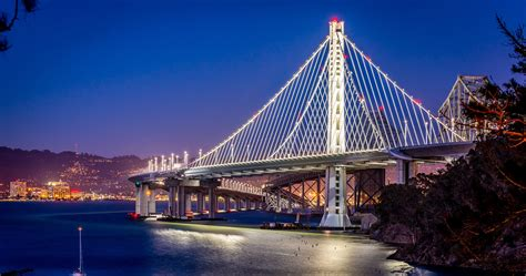 bridge bay san francisco california issue serious rust busiest wired pass section span burbank