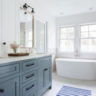 popular bathroom  blue cabinets design ideas