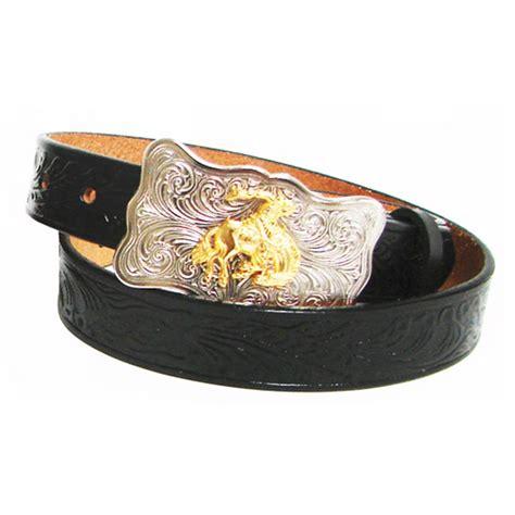 Embossed Cowhide by Leegin Youth Embossed Cowhide Belt D D Outfitters