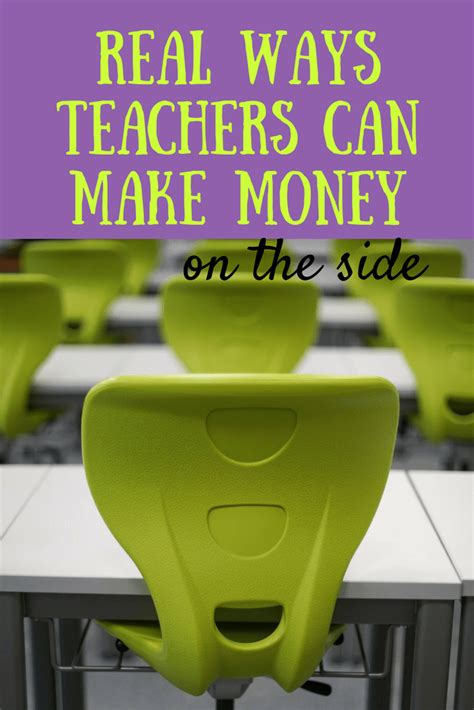 9 ways to make money on the side as a teacher living