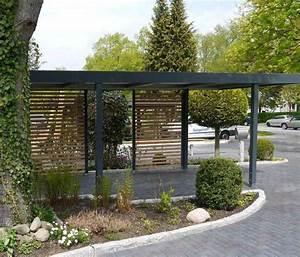 Moderne Carports Mit Glasdach : les 25 meilleures id es concernant carport adoss sur pinterest abri voiture auvent bois et ~ Markanthonyermac.com Haus und Dekorationen