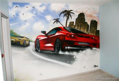 wars decoration chambre voitures décoration graffiti deco