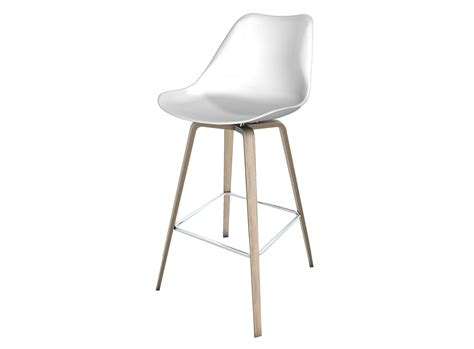 tabouret bar bois blanc fly