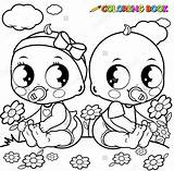 Coloring Baby Pages Newborn Cute Template Colouring Babies Stroller Bitty Pacifier Getcolorings Printable Pikachu Monkey sketch template
