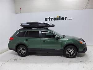 2016 Subaru Outback Wagon Thule Hyper Xl Rooftop Cargo Box