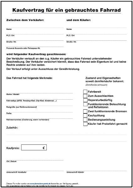 Kaufvertrag Garage Auf Pachtgrundstück by Formulare Gratis
