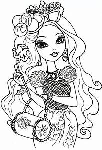 Ever After High Briar Beauty Coloriage Ever After High