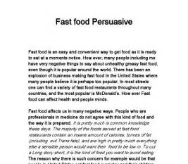food thesis ideas great topics for an argumentative essay on fast food