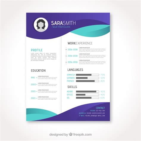Templates De Curriculo Para Download by Cv Template Vectors Photos And Psd Files Free Download