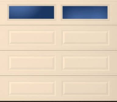 regular sectional insulated door  plain lite
