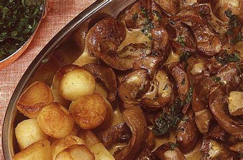 cuisiner des rognons de porc rognons de veau à la dijonnaise