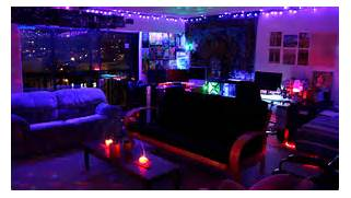 TRIPPY LED ROOM YouTube Black Light Room YouTube Today Blacklight Bedrooms Blacklight Bedroom Decor Blacklight Room We Uv Light Bedroom Teenager Fisheye Neon Lights Beautiful Pretty