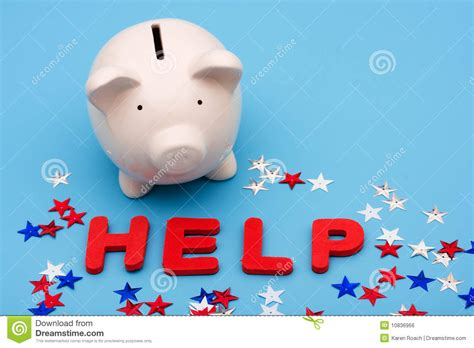 Financial Help Royalty Free Stock Image - Image: 10836966