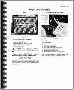 John Deere 450c Crawler Operators Manual