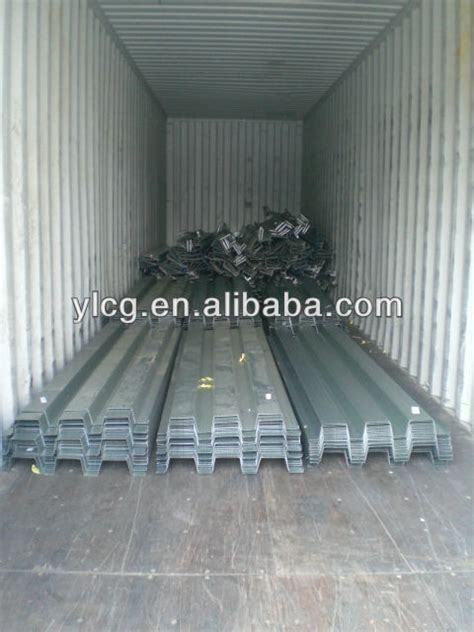 Corrugated Steel Decking For Concrete by Galvanized Corrugated Steel Structure Floor Decking Buy