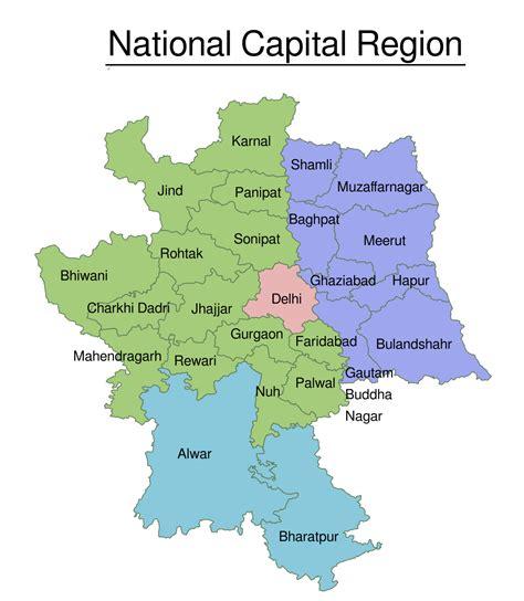 national capital region india wikipedia