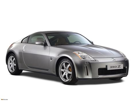 Wallpapers Of Nissan 350z (z33) 2002–06 (2048x1536