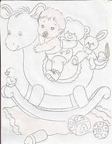 Embroidery Coloring sketch template