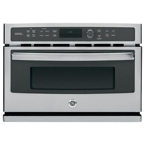 shop ge profile advantium convection single electric wall oven speed cook stainless steel