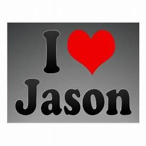 I Love Jason Gifts - 1,000+ Gift Ideas   Zazzle