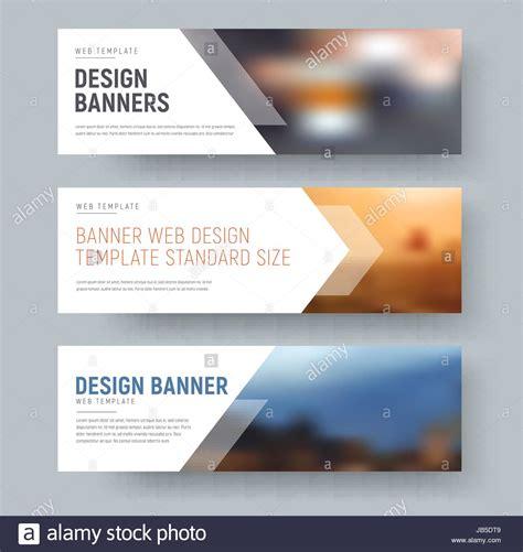 design  standard horizontal web banners  space