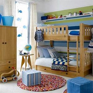 Colourful boys39 bedroom with bunks boys bedroom ideas for Ideas for boys bedrooms