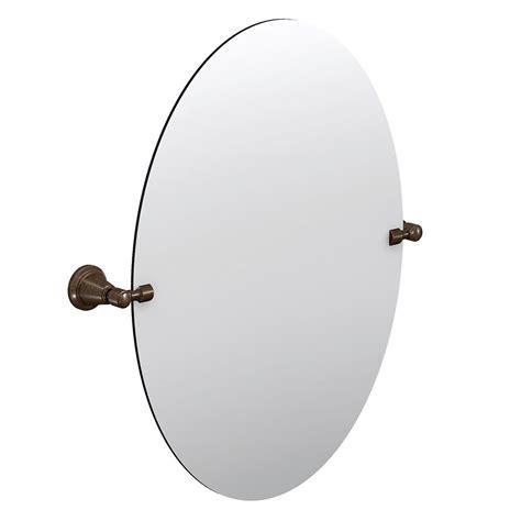 pivot bathroom mirror home depot moen bradshaw pivoting mirror rubbed bronze the
