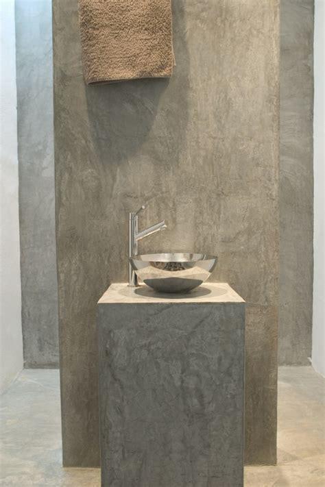 cemento pulido madrid pavimento  banos paredes