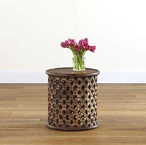 garden stool world market horchow gunmetal garden stool table look 4 less
