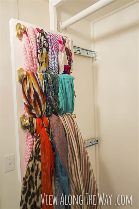 girly glam closet makeover reveal view along the