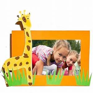 Cadre à Décorer : cadre photo girafe t te modeler ~ Zukunftsfamilie.com Idées de Décoration