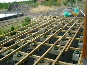 Bois De Terrasse : pose terrasse bois landes 40 terrasse en bois blanc ~ Preciouscoupons.com Idées de Décoration