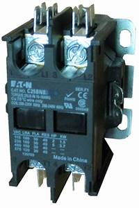 C25bnb230t Eaton Definite Purpose 2 Pole Contactor Rated