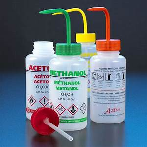 ghs pre printed wash bottles from globe scientific With ghs bottle labels