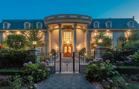 million french normandy mansion  beverly hills ca