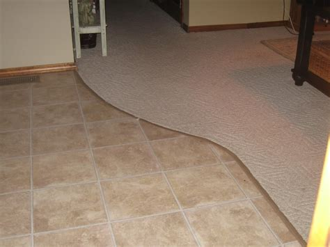 curved transition for laminate flooring