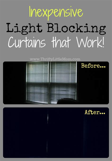 inexpensive quot light blocking quot curtains that work 187 thrifty