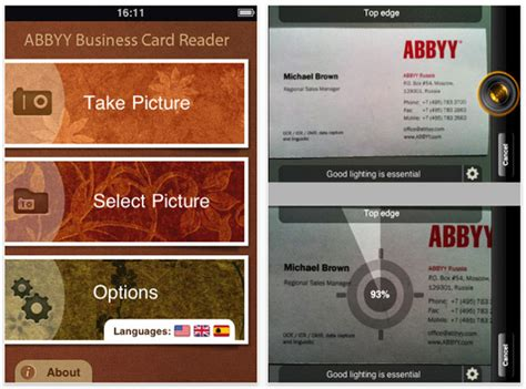 Abbyy Business Card Reader 3.0 For Iphone Business Day Calendar Java Todoist Quotes About Communication Card Design Microsoft Word With Photoshop Cards Mac On Pc Employees