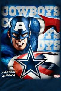 Dallas Cowboys Captain America