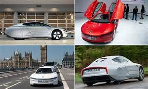 Efficient Car In The World by The Most Fuel Efficient Car In The World Volkswagen Xl1