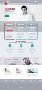 Merchant Services Responsive Website Template  47589