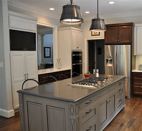 Kitchen Island & Cabinets  J Tribble
