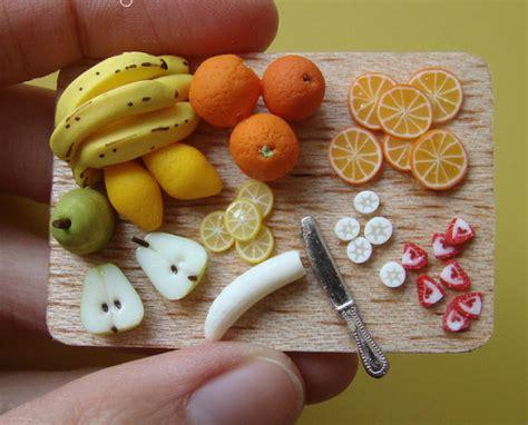 cuisine miniature miniature food on