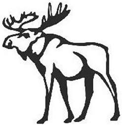 Abercrombie and Fitch Moose Logo