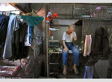 Hong Kong's 'caged dogs' Povertystricken people forced