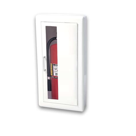 Jl Industries Semi Recessed Extinguisher Cabinet by Jl Ambassador 8117v10 Semi Recessed 5 Lbs